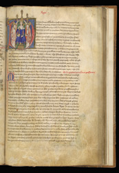 Coronation Order of Richard II, in a Historical Compilation